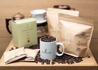 Café Rinオリジナルブレンドのコーヒー豆100gをお土産にお持ち帰り