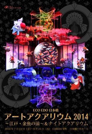 新・夏の風物詩!アートアクアリウムがコレド室町 日本橋三井ホールで開催中!