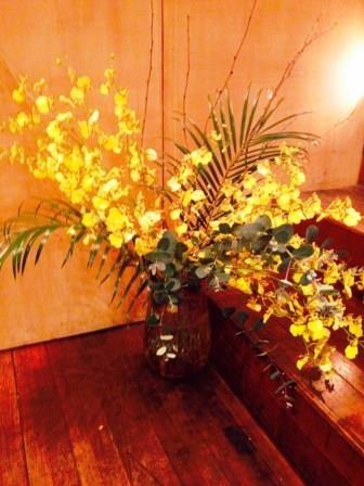 今週のお花 オンシジュームとフリージア