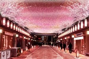 コレド室町 桜Weeks開催中!!