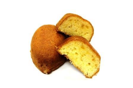 レモンのスポンジケーキ