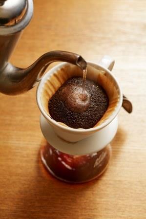 温かいコーヒーと手作りスイーツ!